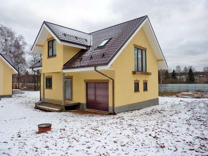 Площадь и планировка дома с мансардой могут быть абсолютно различны и способны удовлетворить требования любого застройщика