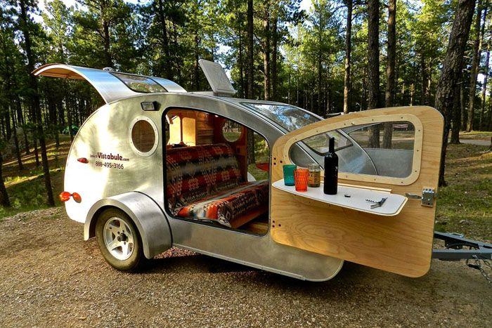 Один из вариантов оснащения прицепа-палатки