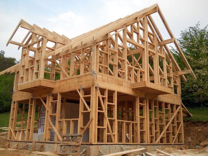 Каркас – основа здания при использовании подобной технологии строительства