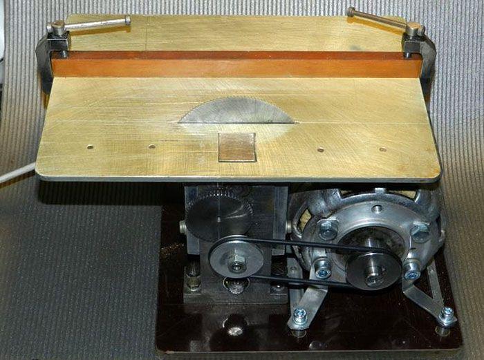 Вариант изготовления циркулярки с использованием мотора от стиральной машины