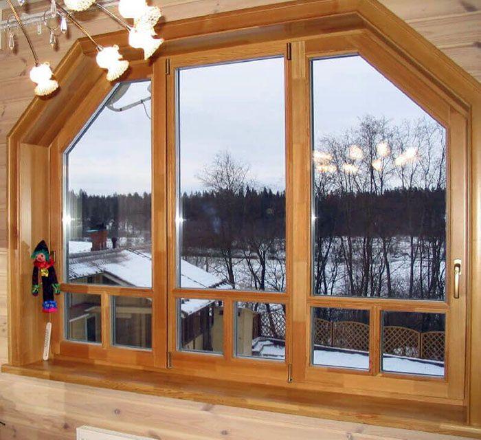 Деревянные окна – это продолжительные сроки эксплуатации и оптимальный микроклимат внутри помещений