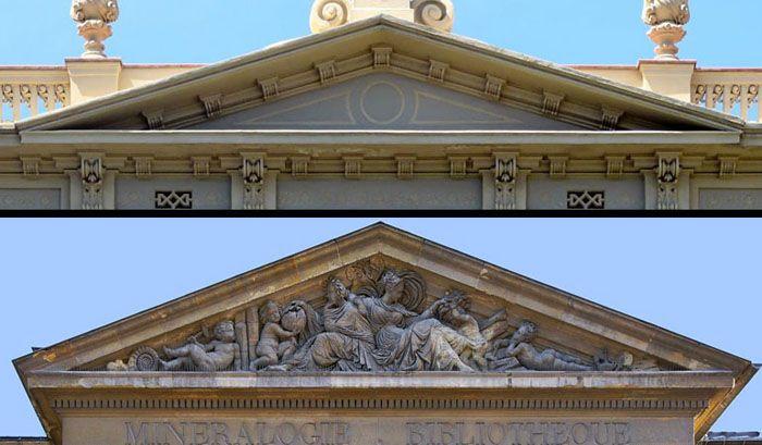 Треугольная форма используется архитекторами с древних времён и по наши дни