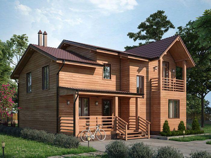 Проект дома из профилированного бруса «Фердинанд»