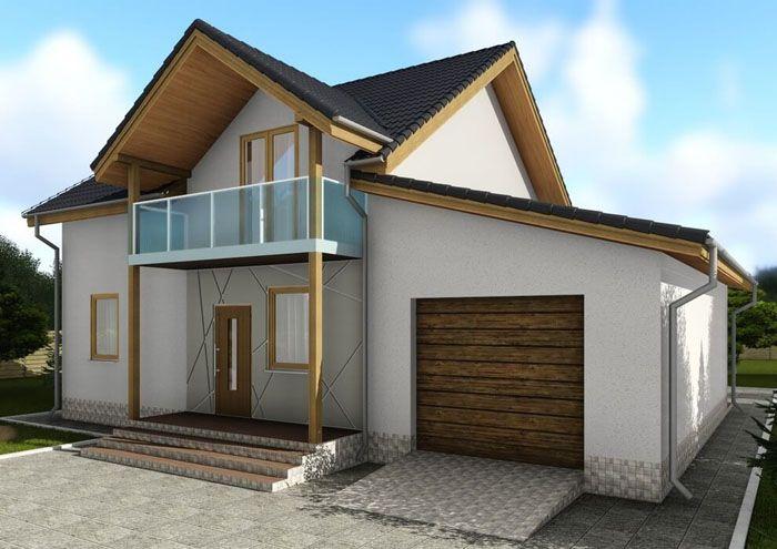 Проект «C1720 Черноморск» − двухэтажный дом по СИП-технологии