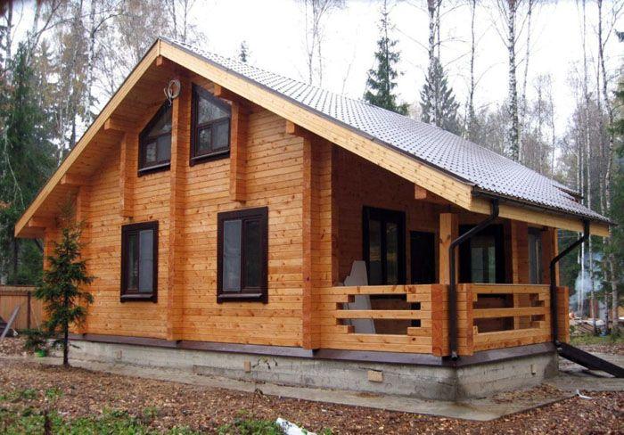 Профилированный брус – это востребованный материал при деревянном домостроении