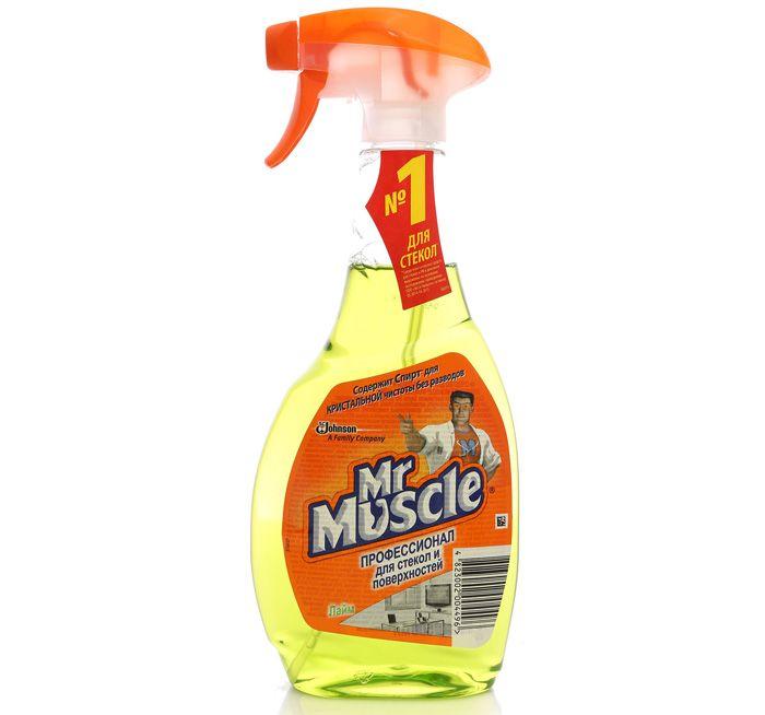 «Мистер Мускул» вполне справляется с уборкой загрязнений от липкой ленты