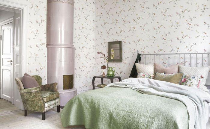 Белый фон хорош для любого типа мебели и декора