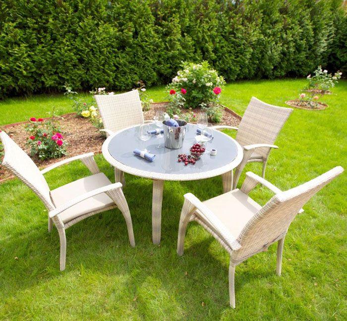 Как на веранде, так и в саду — комплект уместен везде