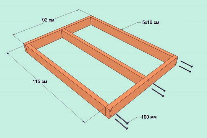 Для основания деревянного пола потребуются бруски 100×100 мм