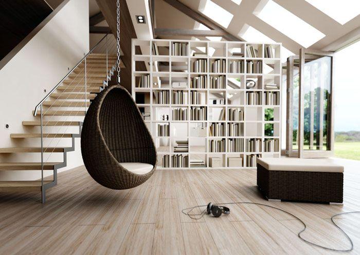 Кокон похож на крохотный домик, в нём можно и полежать, и посидеть с планшетом или ноутбуком