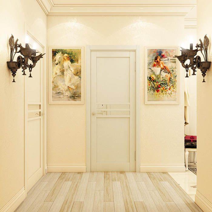 Чтобы не сделать помещение просто кремовым или обезличенным, стоит включить в дизайн металлические предметы или деревянные