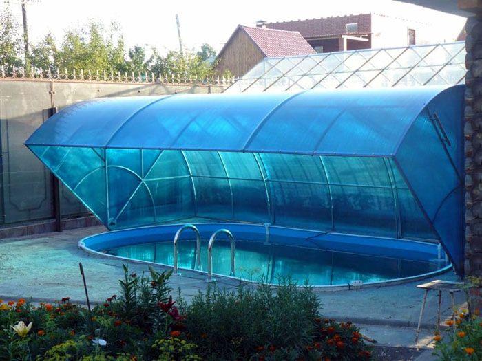 Крытый бассейн нехитрым способом становится открытым