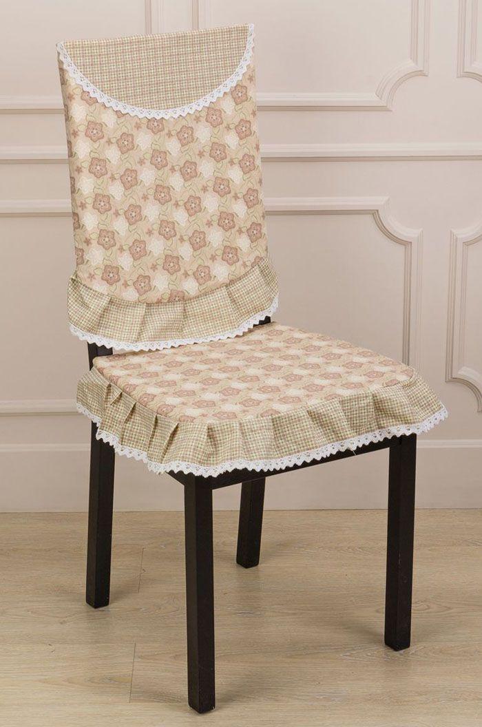 Струящаяся ткань не подходит, а вот плотная и крепкая будет полностью облегать и спинку, и сиденье, не сморщиваясь