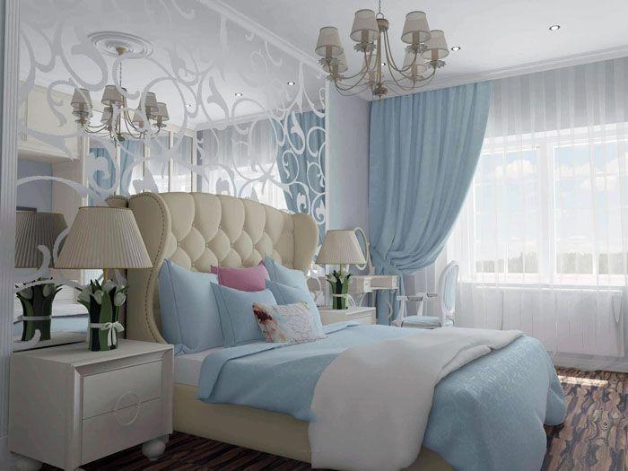 Спальня будет оценена по достоинству не только женщинами, но и мужчинами, которые хотят полностью отрешиться от мирских забот и тревог