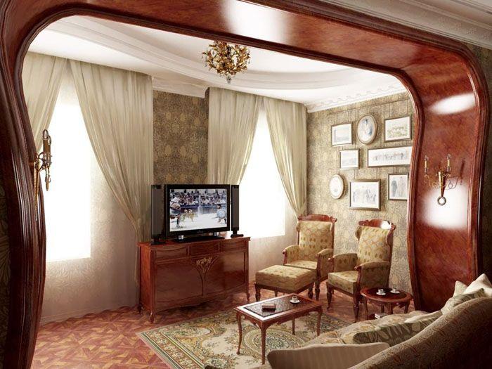 Такое сочетание любую комнату делает образцом искусства
