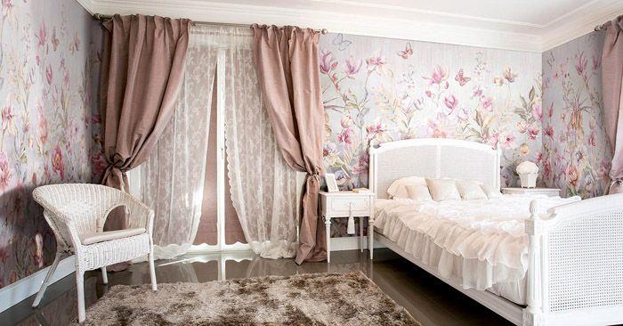 Восхитительные сны будут слетаться в такую спальню со всех уголков мира