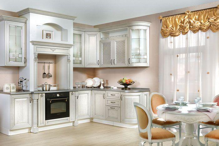 Беленый дуб или просто выбеленная древесина добавляют кухонному облику шика