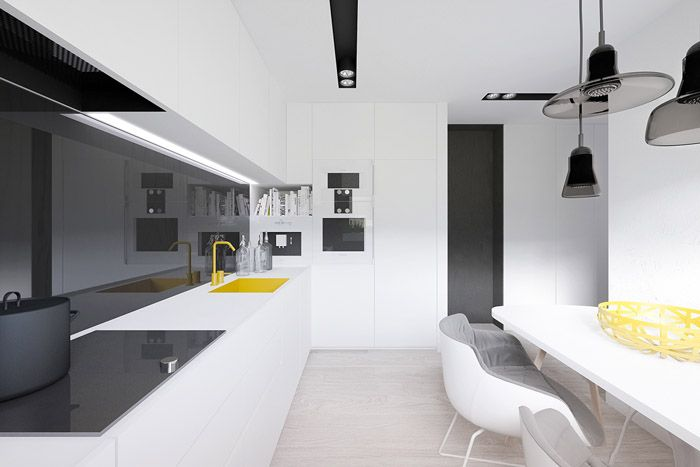 Чёрный добавит элегантности даже при очевидной простоте минимализма