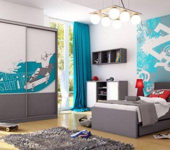 Дизайн комнаты для мальчика-подростка