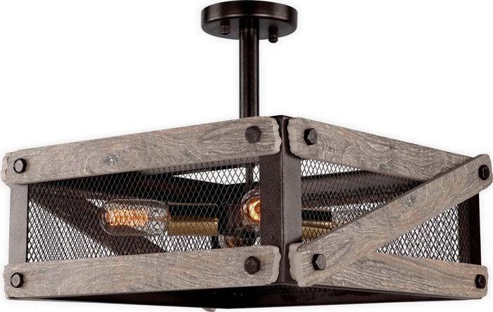 Дополнение к дизайну деревянных элементов не противоречит канонам лофта