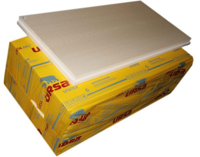 Экструдированный пенополистерол марки «URSA» востребован при индивидуальном жилищном строительстве