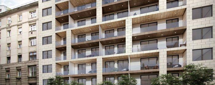 На фото видно,чем отличается лоджия от балкона