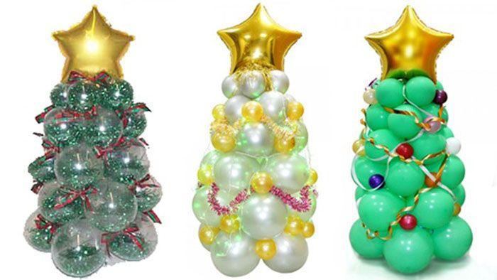 Получаются замечательные украшения к Новому году
