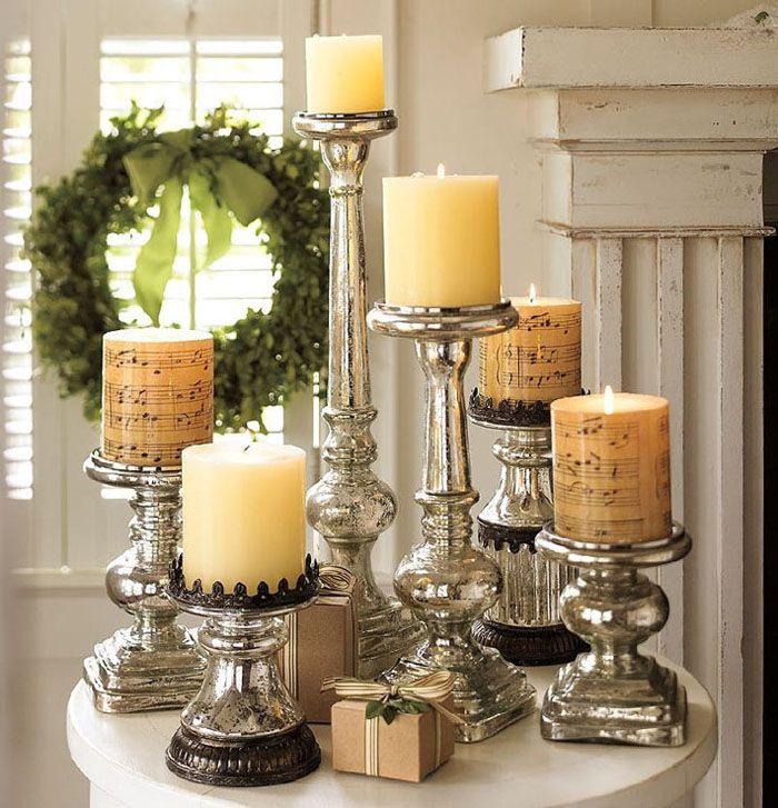 Свечи никогда не стоит оставлять зажжёнными без присмотра, особенно если поблизости есть бумага, хвоя, ткань...