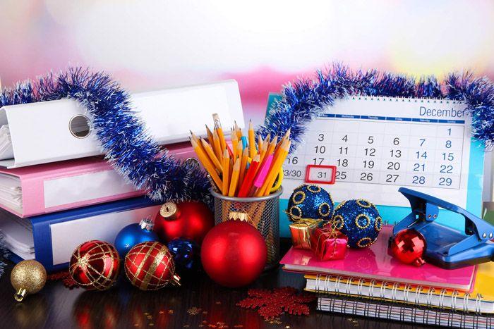 Как украсить кабинет на новый год