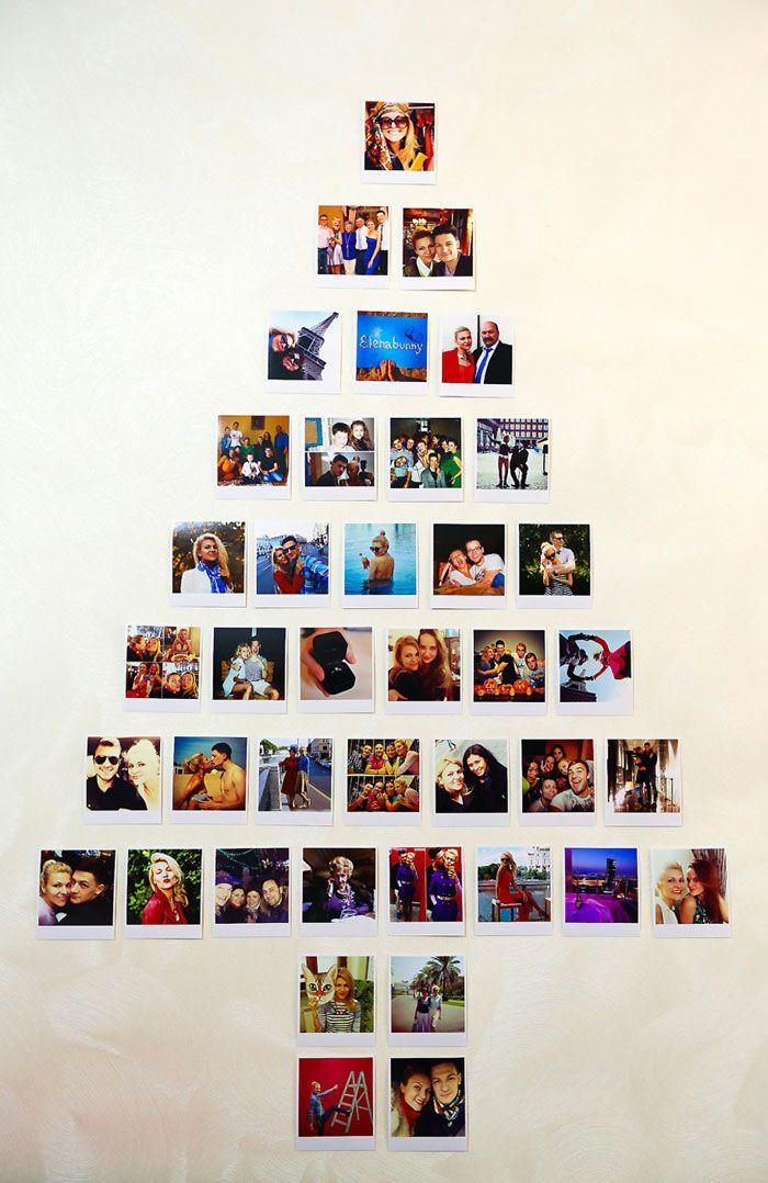 На фотопростая идея как украсить кабинет на Новый год.Можно собрать ёлку из всех фотографий, сделанных с коллегами за уходящий год