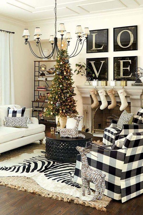 Даже несильные изменения в интерьере комнаты все равно превращают привычный дизайн в новогодний
