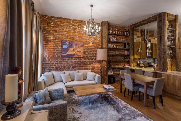Сегодня фабричные квартиры loft считаются элитными, поэтому придать собственным жилым метрам богемный облик становится еще интереснее