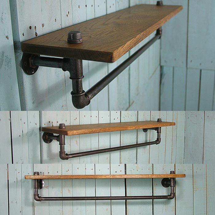 Каждый предмет мебели содержит в себе стилевые элементы: трубы, дерево, металл