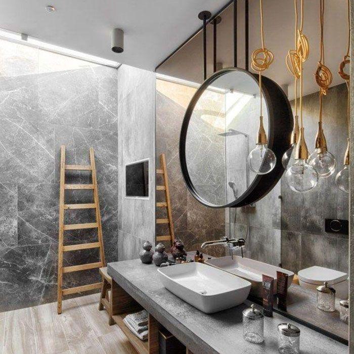 Ванную комнату необязательно отделывать под кирпич. Каменные плитки никак не уменьшат нужный эффект