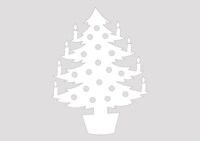 Свечи на ёлке — истинно по-новогоднему
