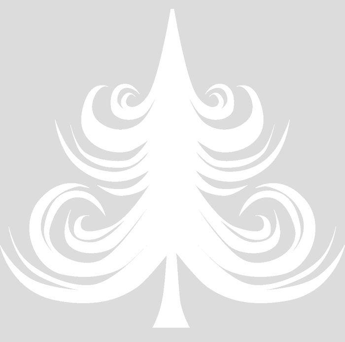 Словно мороз рисует ёлочку