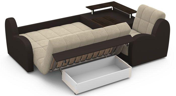 Аккордеон подходит для ежедневной эксплуатации в качестве места для сна