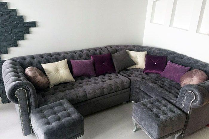 Когда диван сочетается с остальным интерьером — это восхитительно