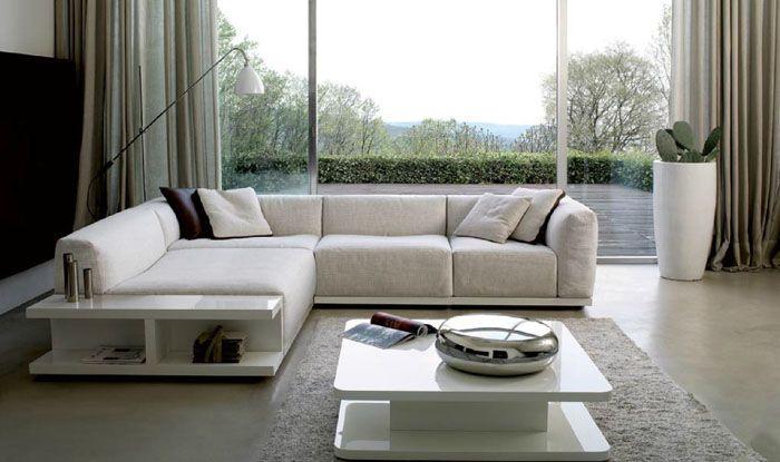 В сложенном виде диван может не особенно выделяться размерами
