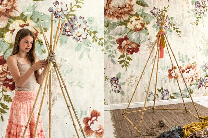 Для каркаса также подойдут бамбуковые опоры для растений соответствующей толщины