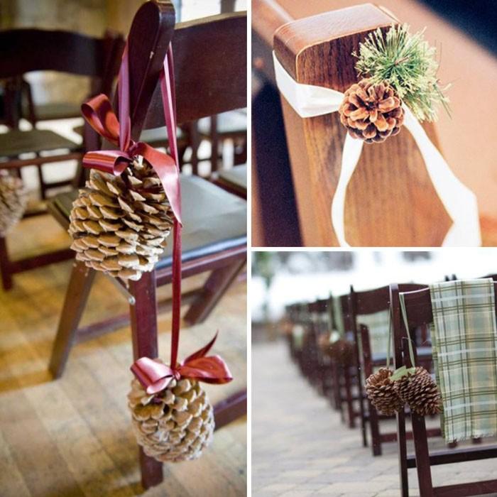 Подобный декор уместен и за домашним новогодним столом, и на зимней свадьбе, и на корпоративе