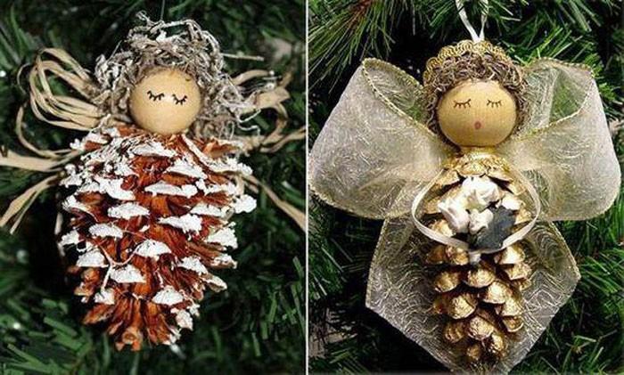 На крылья прекрасно подойдут широкие ленты или даже сложенные в несколько раз шерстяные нити, кто-то использует для крылышек кокосовые нити. Голову делают как из ткани, так и из поролона, деревянных круглых заготовок, остатков от игрушек-кукол