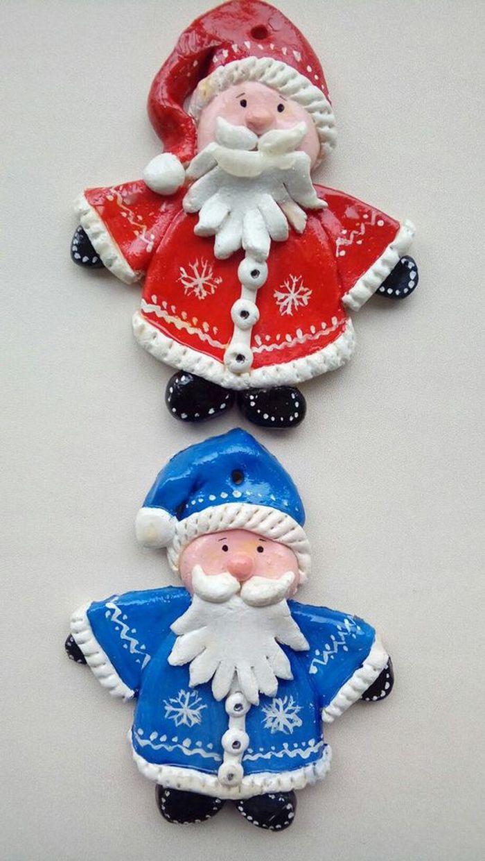 Дети школьного возраста смогут вылепить больше деталей в фигурке Деда Мороза, чем дошкольники