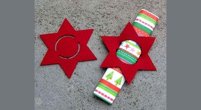 Вифлеемская звезда тоже достойно украшает праздничный стол