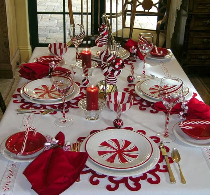 Самые «новогодние» сочетания — белый с красным