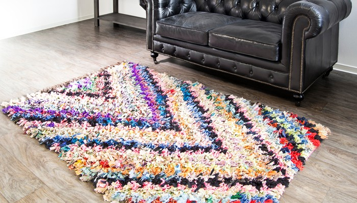 В качестве примера рукоделия для дома своими руками назовём и коврики