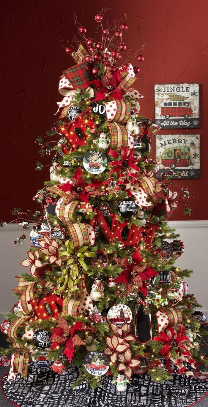 Броская и эффектная композиция: любителям красочного и пёстрого Рождества и Нового года