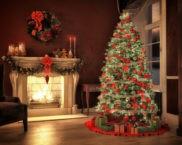 Как дома красиво украсить ёлку на Новый год: фото