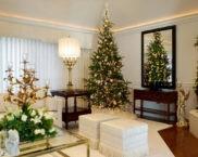 Как украсить зал на Новый год