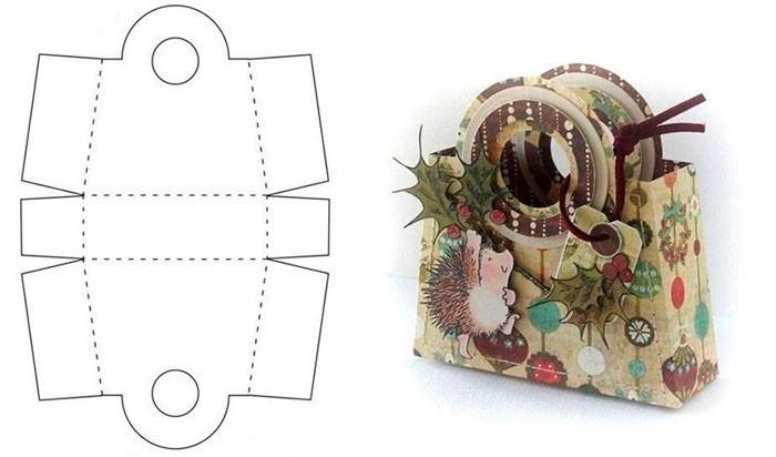 Тематический декор сделает упаковку элементом дизайна помещения на Новый год
